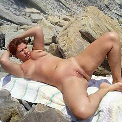 Outdoor nudist.