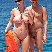 For fans of in nature's garb recreation, astounding collection of pictures of nudists.