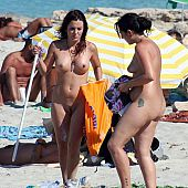 Cameras undressed beachs nude.