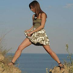Outdoor dress.