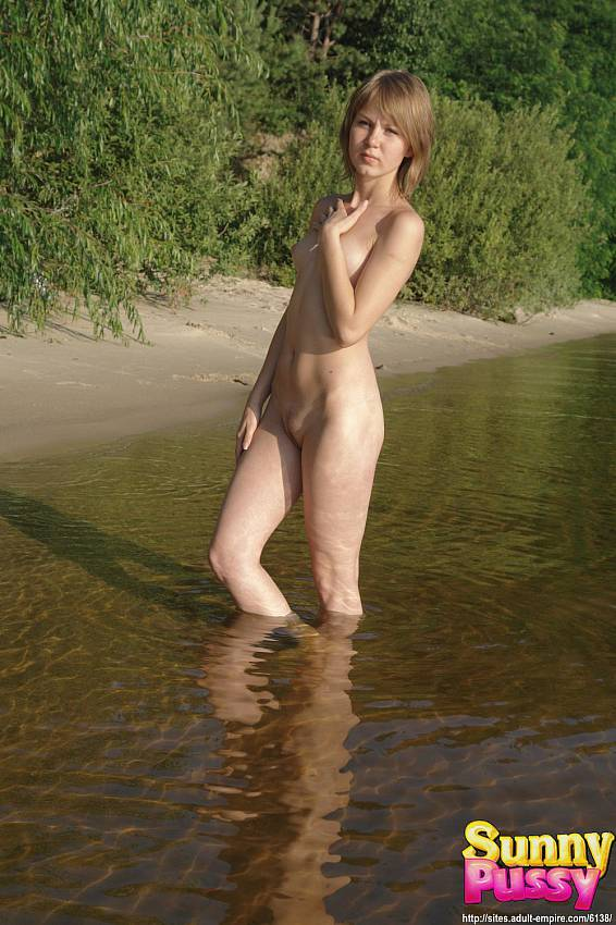 You blonde outdoor water sex help you?