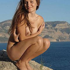 Outdoor naked.